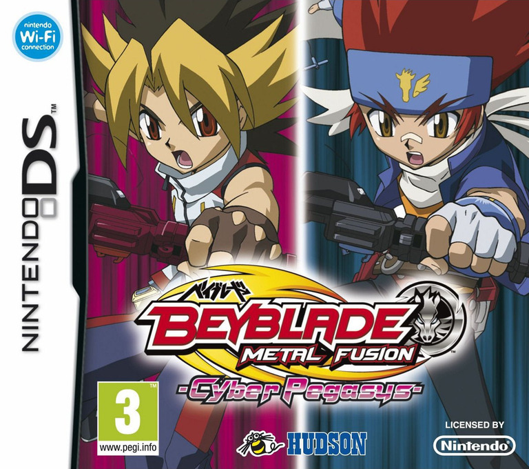 Beyblade - Metal Fusion: Cyber Pegasus DS coverHQ (BBUP)