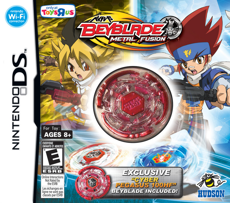 Beyblade - Metal Fusion (ToysRus Exclusive) DS coverHQ (BBUX)