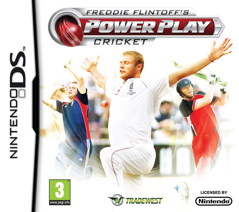 Freddie Flintoff's Power Play Cricket DS coverHQ (BCEP)