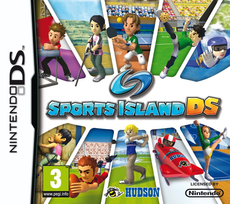 Sports Island DS DS coverHQ (BD2P)