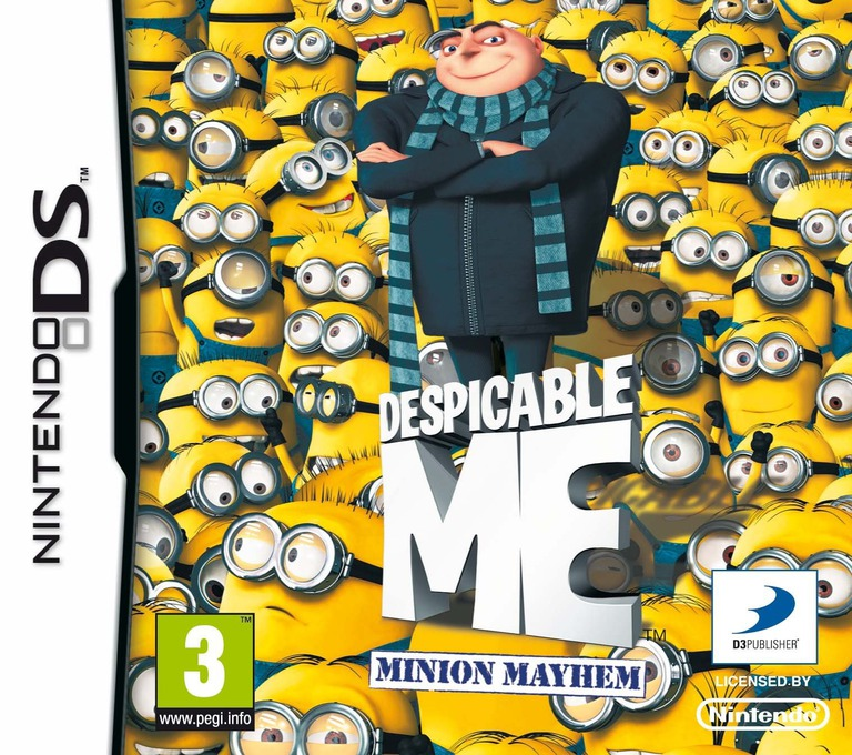 Despicable Me - Minion Mayhem DS coverHQ (BDWP)