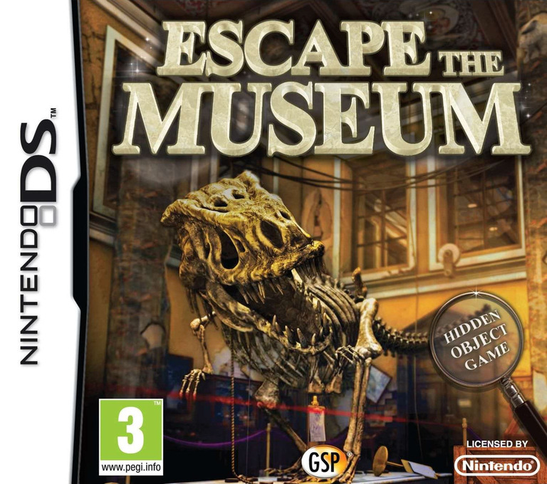 Escape the Museum DS coverHQ (BE3X)