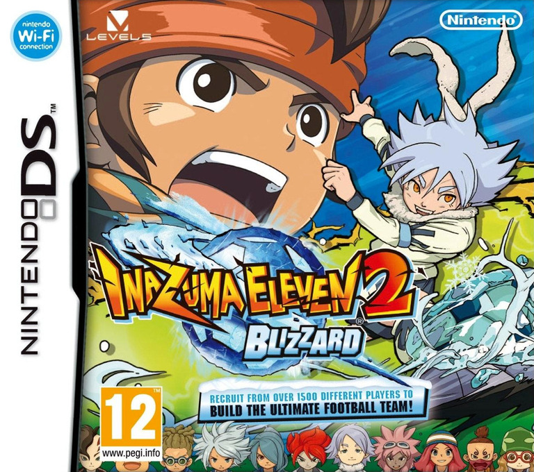 Inazuma Eleven 2 - Blizzard DS coverHQ (BEBP)