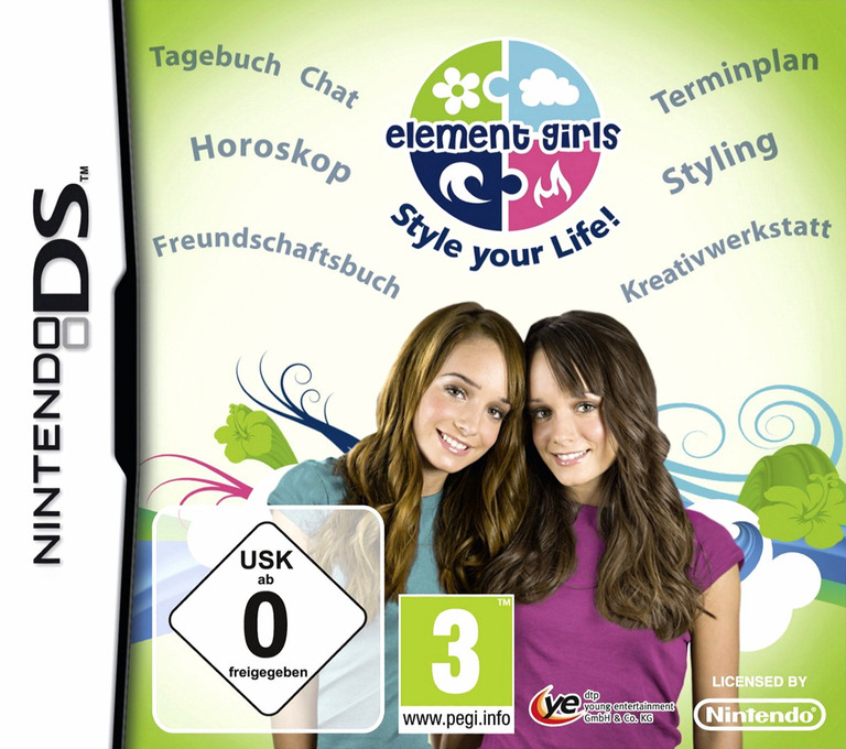 Element Girls - Style Your Life! DS coverHQ (BECX)