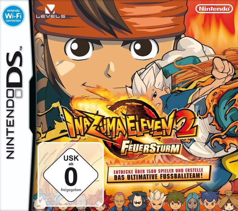 Inazuma Eleven 2 - Feuersturm DS coverHQ (BEED)