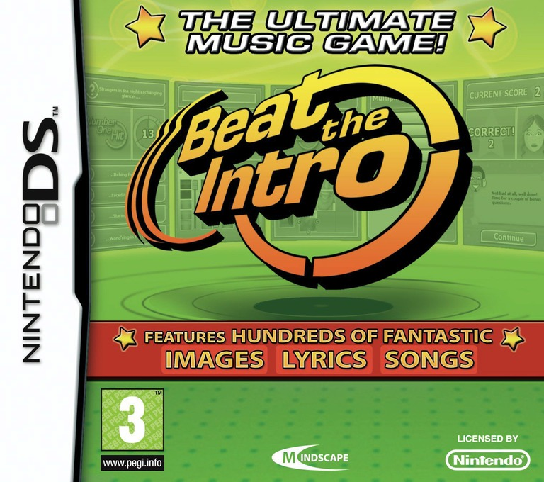 Beat the Intro DS coverHQ (BEIP)