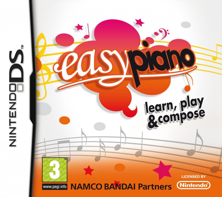 Easy Piano - Learn, Play & Compose DS coverHQ (BEPP)