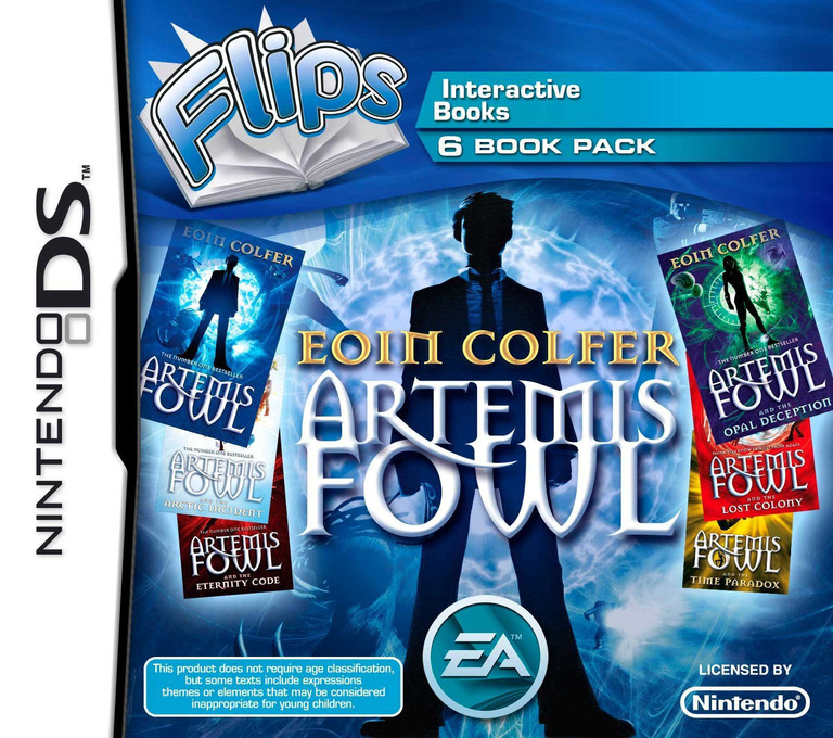 Flips 6 Book Pack - Eoin Colfer - Artemis Fowl DS coverHQ (BF6P)