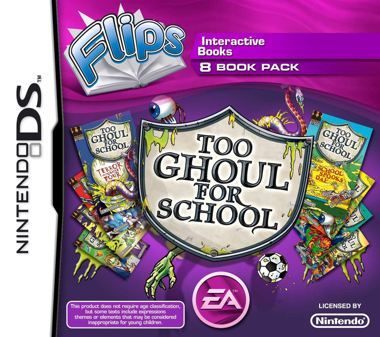 Flips 8 Book Pack - Too Ghoul for School DS coverHQ (BF9P)