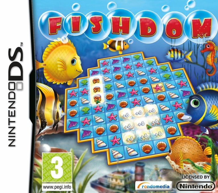 Fishdom DS coverHQ (BFDY)
