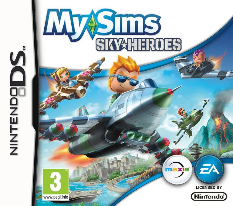MySims - SkyHeroes DS coverHQ (BFLP)
