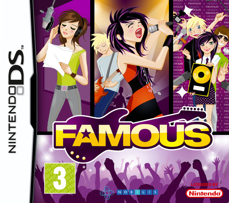 Famous - The Road to Glory! DS coverHQ (BFMP)
