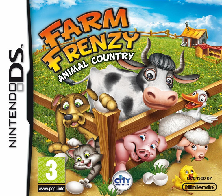 Farm Frenzy - Animal Country DS coverHQ (BFZP)