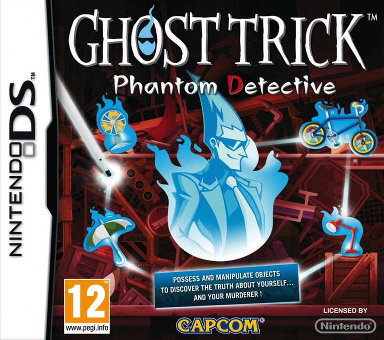 Ghost Trick - Phantom Detective DS coverHQ (BGTP)