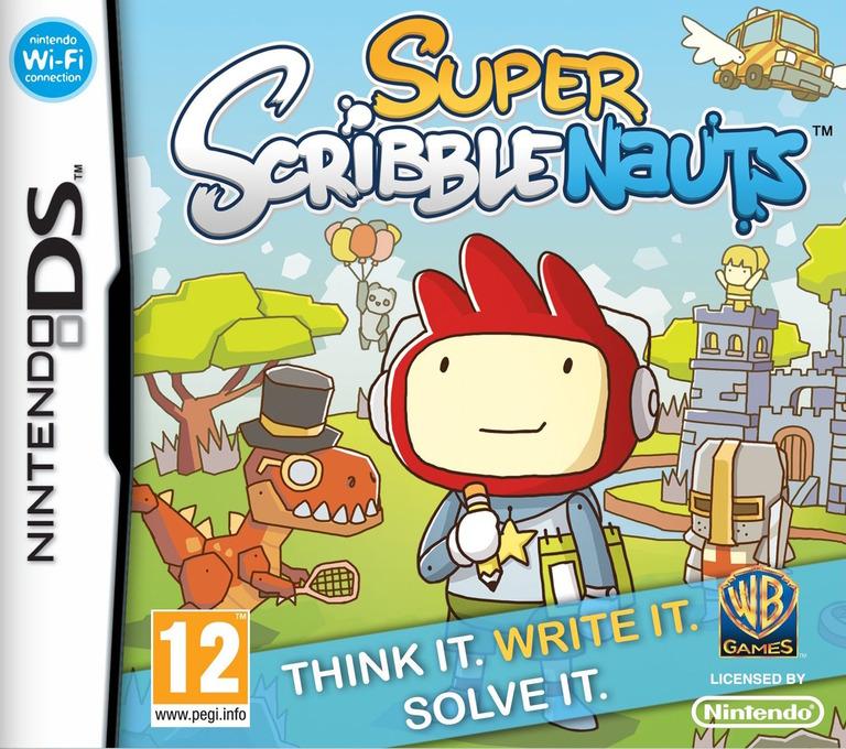 Super Scribblenauts DS coverHQ (BH2X)