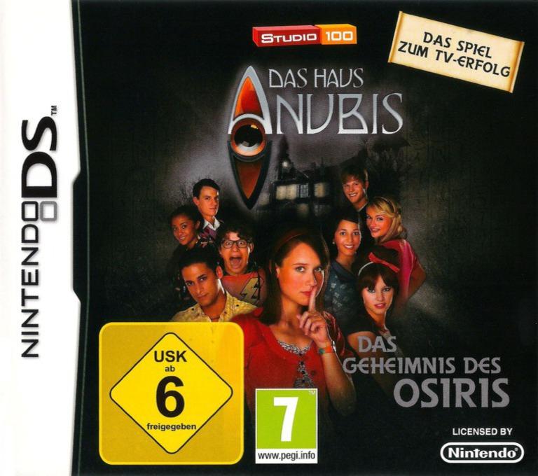 Das Haus Anubis - Das Geheimnis des Osiris DS coverHQ (BHCD)