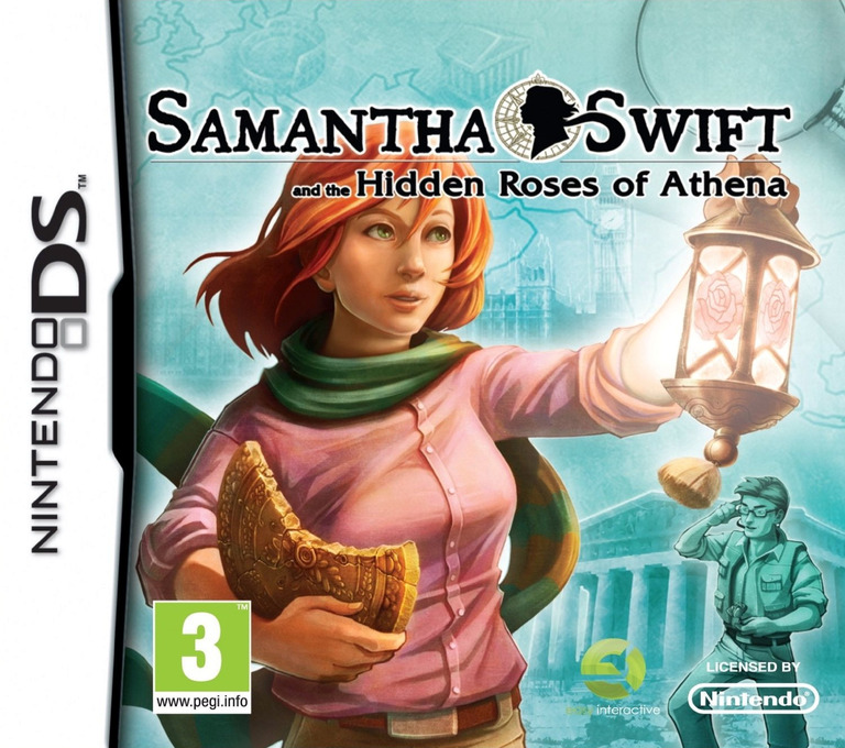 Samantha Swift and the Hidden Roses of Athena DS coverHQ (BHRY)