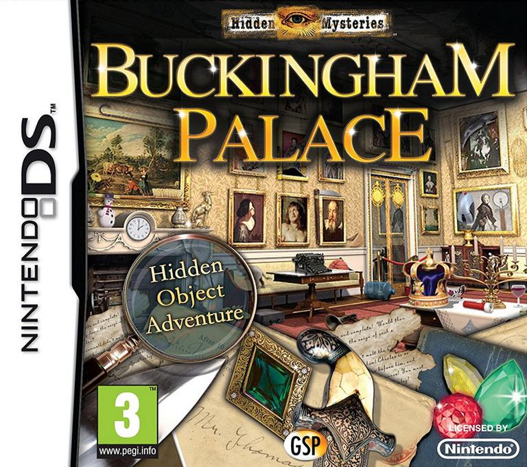 Hidden Mysteries - Buckingham Palace DS coverHQ (BHYP)