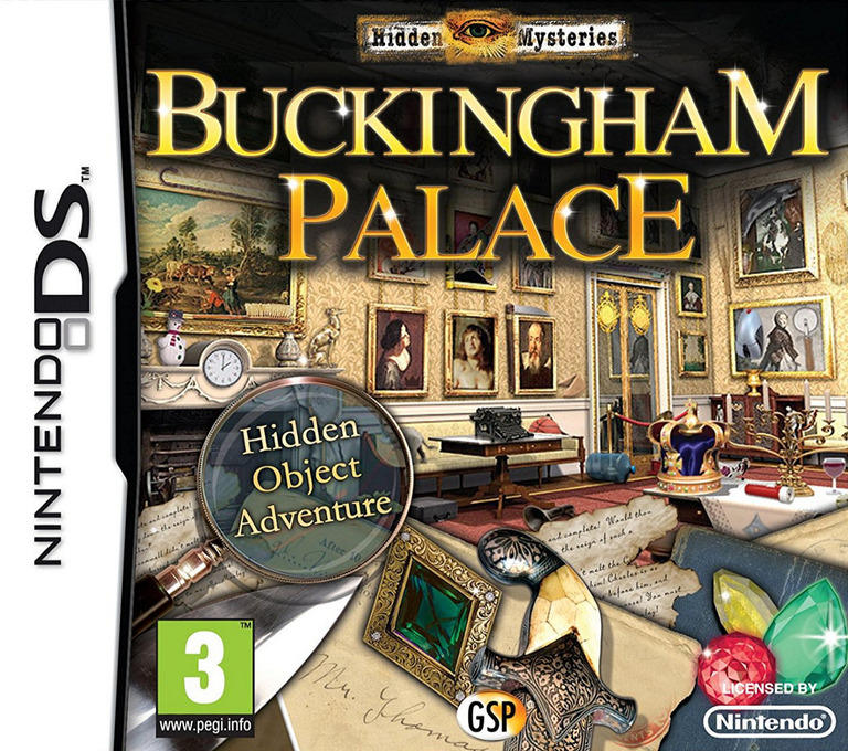 Hidden Mysteries - Buckingham Palace DS coverHQ (BHYX)