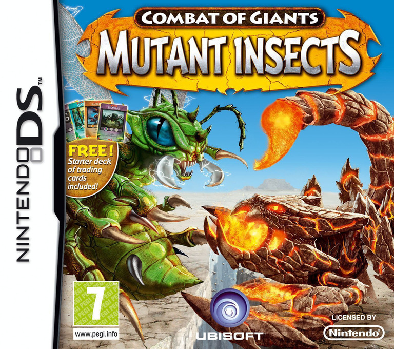 Combat of Giants - Mutant Insects DS coverHQ (BIGP)
