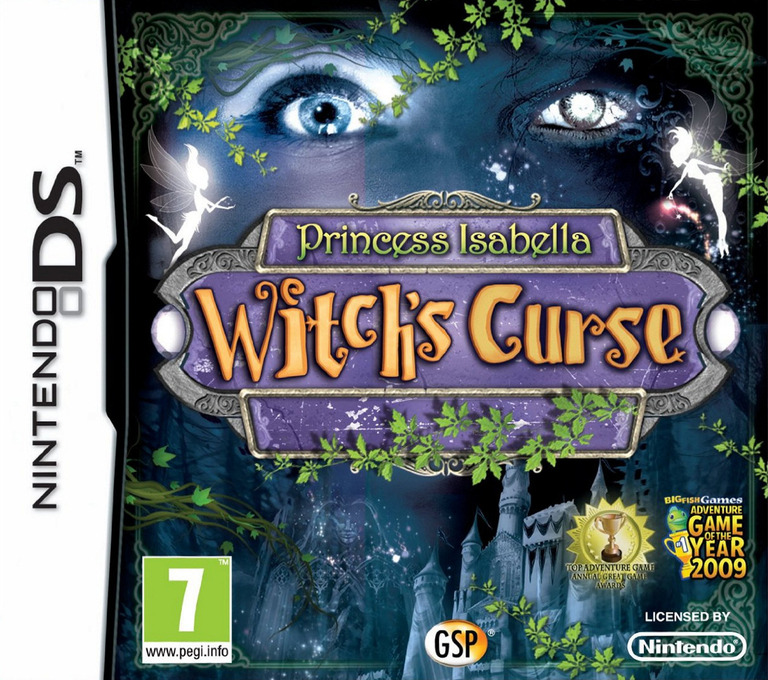 Princess Isabella - Witch's Curse DS coverHQ (BIWP)