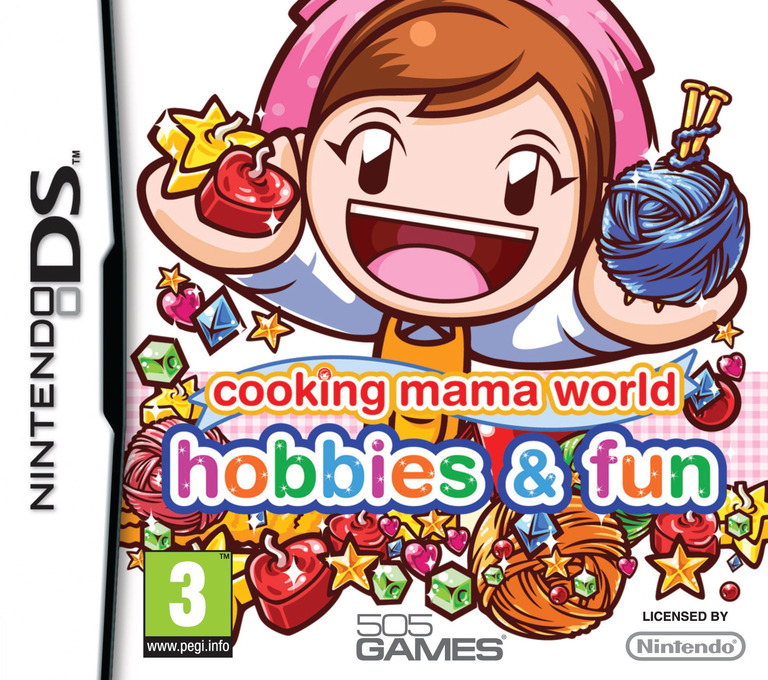 Cooking Mama World - Hobbies & Fun DS coverHQ (BJ8P)