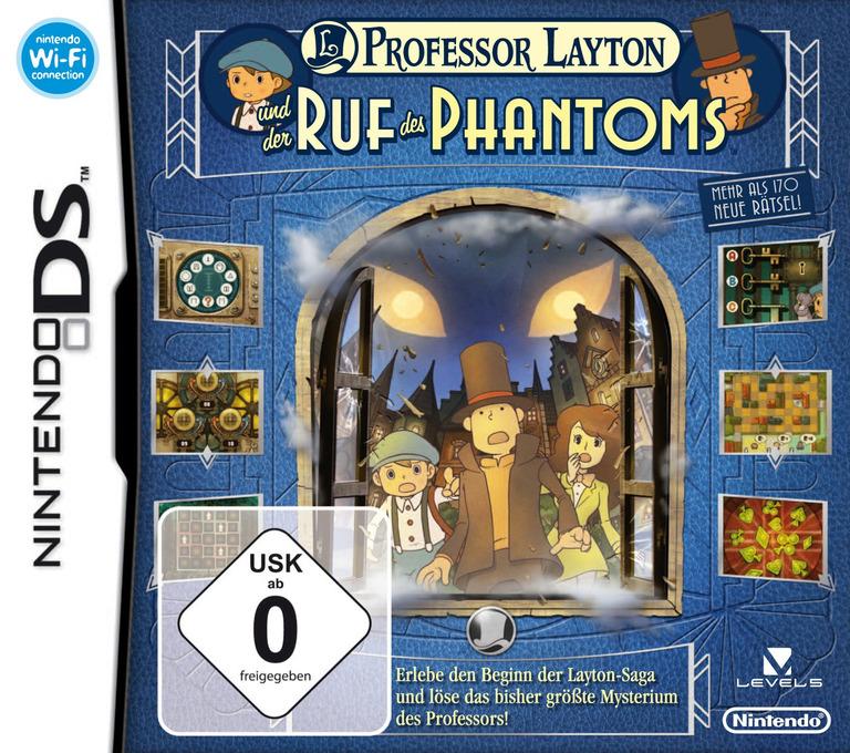 Professor Layton und der Ruf des Phantoms DS coverHQ (BLFD)