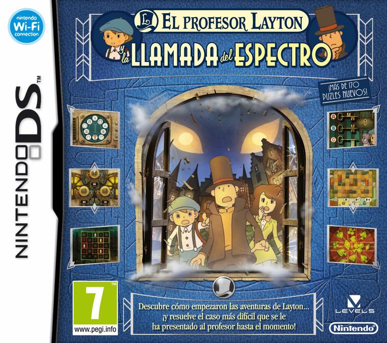 El Profesor Layton y la Llamada del Espectro DS coverHQ (BLFS)