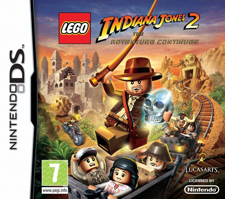 LEGO Indiana Jones 2 - The Adventure Continues DS coverHQ (BLJP)