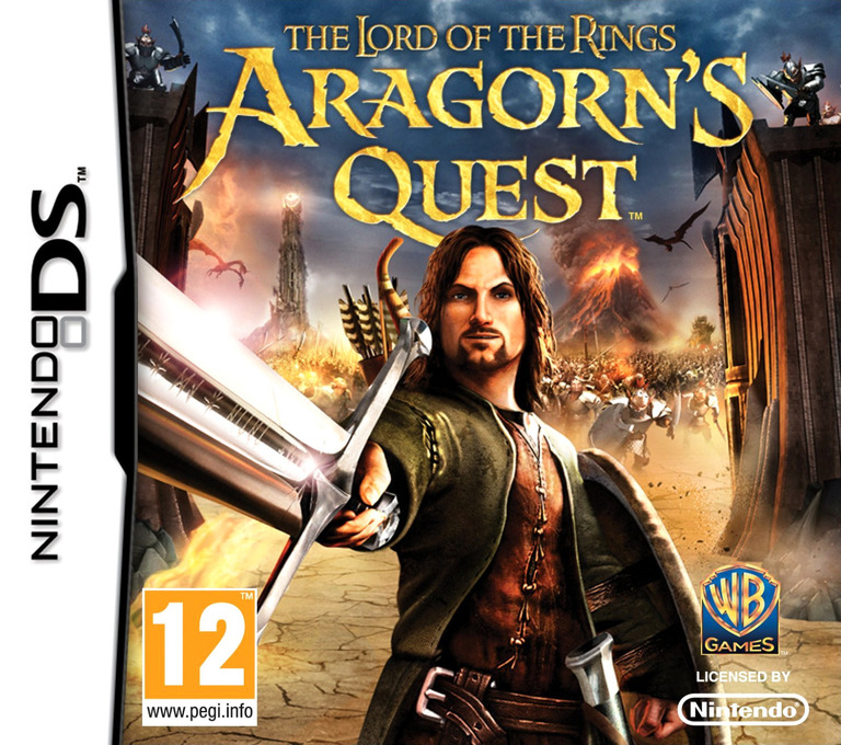 The Lord of the Rings - Aragorn's Quest DS coverHQ (BLPP)