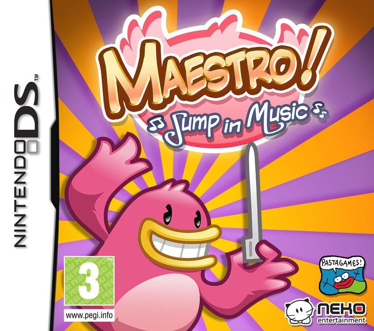 Maestro! - Jump in Music DS coverHQ (BM4P)