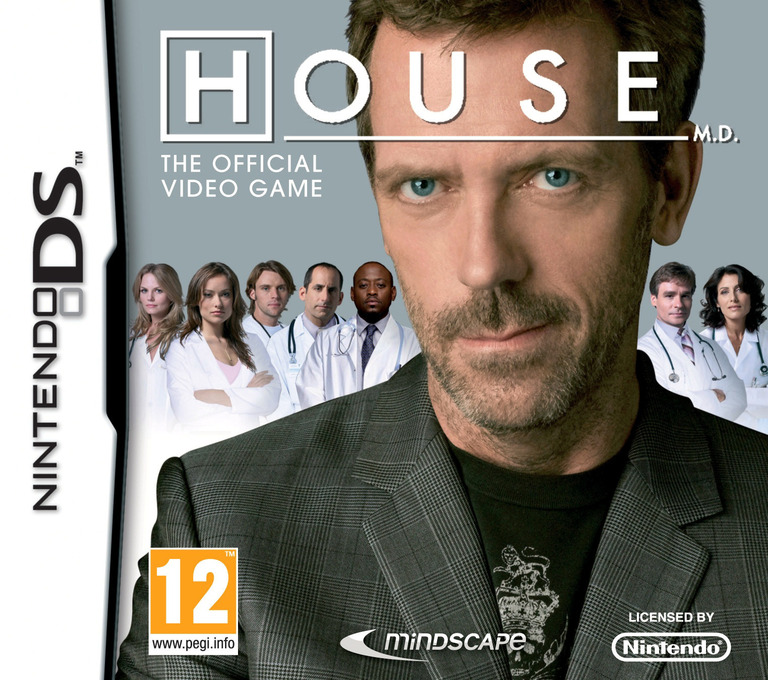 House M.D. - The Official Game DS coverHQ (BMHP)