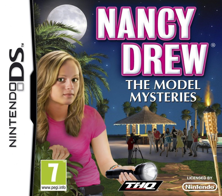 Nancy Drew - The Model Mysteries DS coverHQ (BNAP)