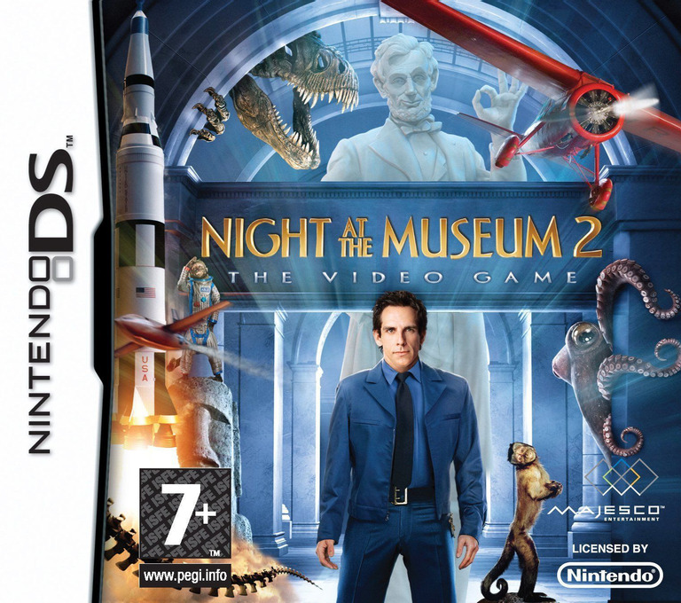 Night at the Museum 2 - The Video Game DS coverHQ (BNMX)