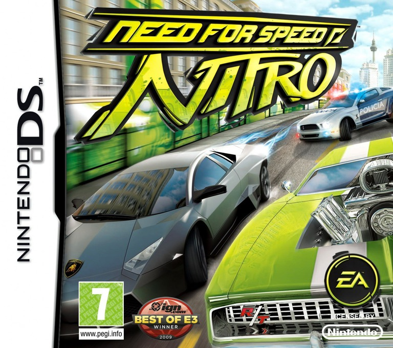 Need for Speed - Nitro DS coverHQ (BNNP)
