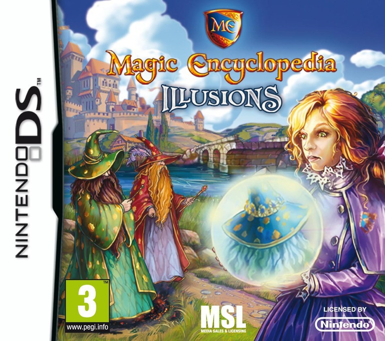 Magic Encyclopedia 3 - Illusions DS coverHQ (BNWP)