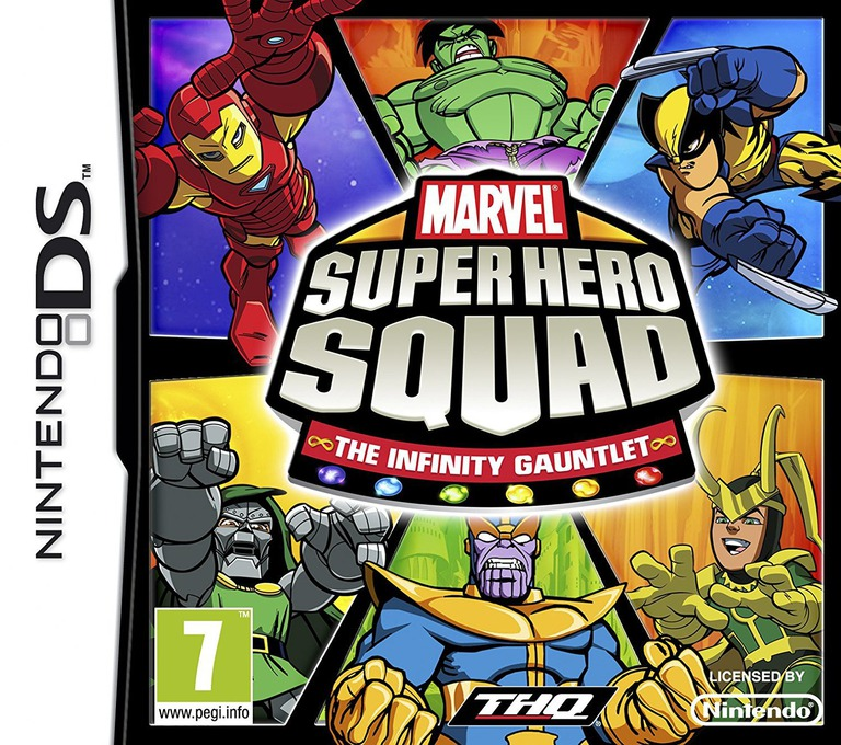 Marvel Super Hero Squad - The Infinity Gauntlet DS coverHQ (BNYP)