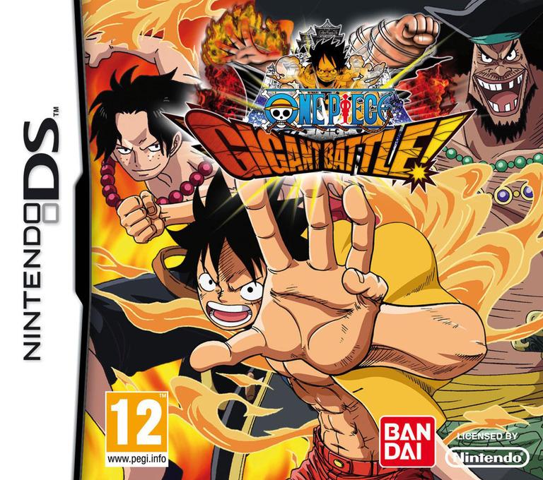 One Piece - Gigant Battle! DS coverHQ (BOJF)