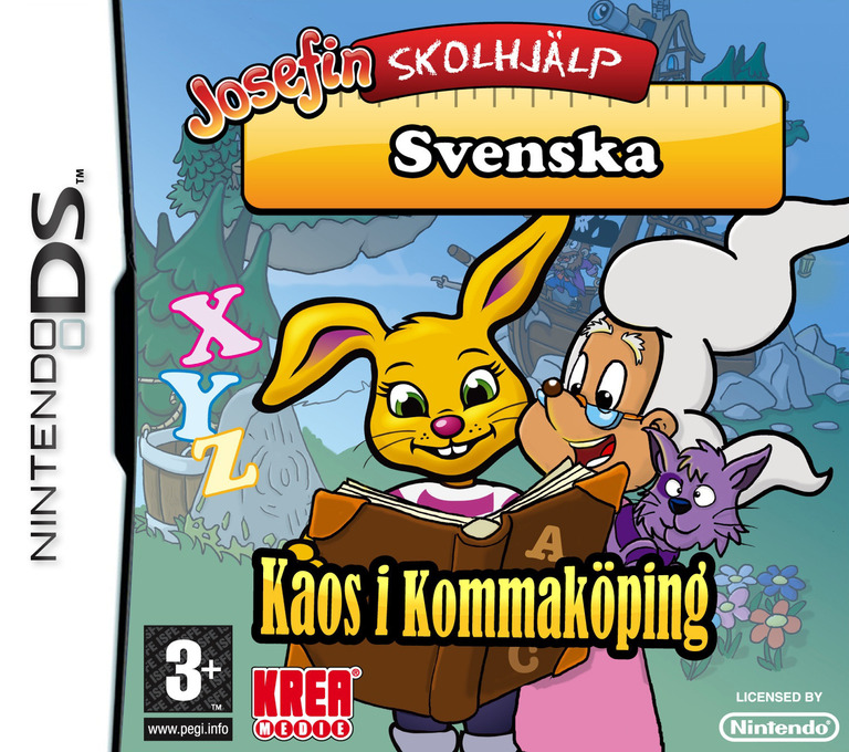 Josefin Skolhjälp - Svenska - Kaos i Kommaköping DS coverHQ (BP8M)