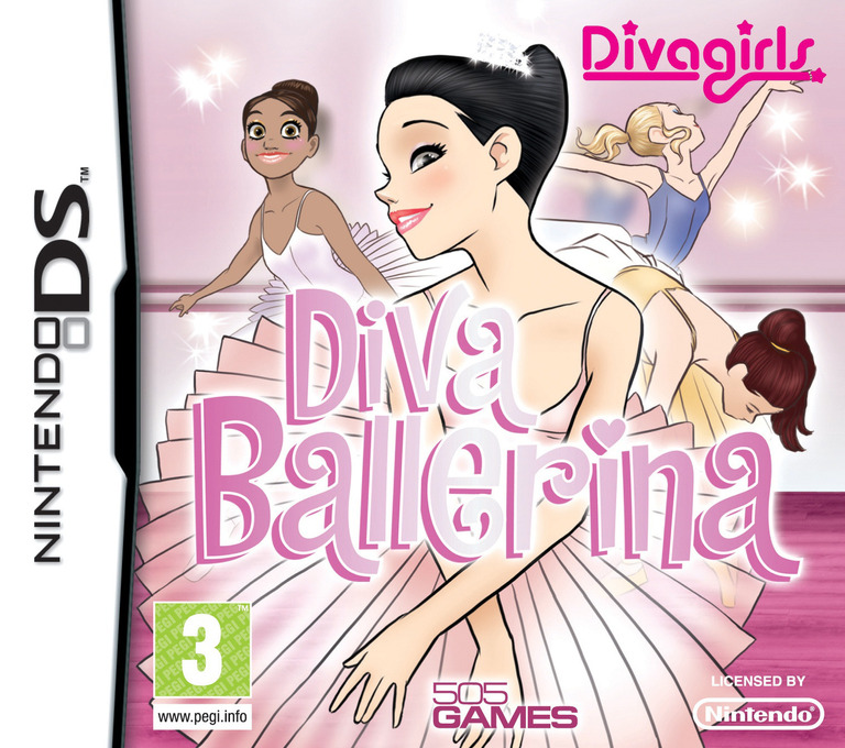 Diva Girls - Diva Ballerina DS coverHQ (BPDP)