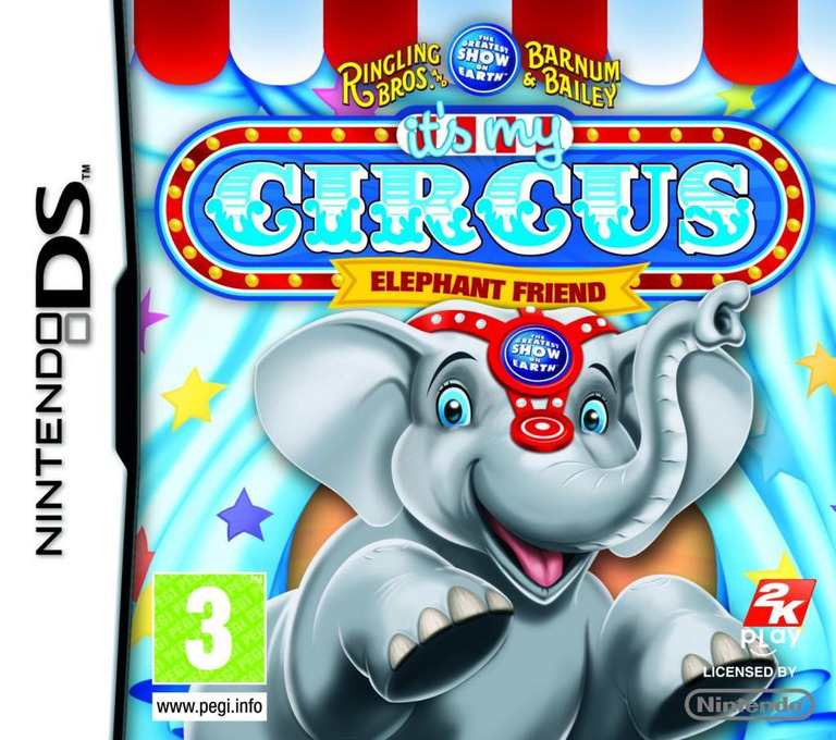 Ringling Bros. and Barnum & Bailey - It's My Circus - Elephant Friend DS coverHQ (BRLX)