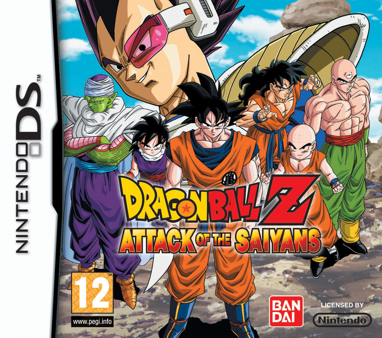 Dragon Ball Z - Attack of the Saiyans DS coverHQ (BRPP)