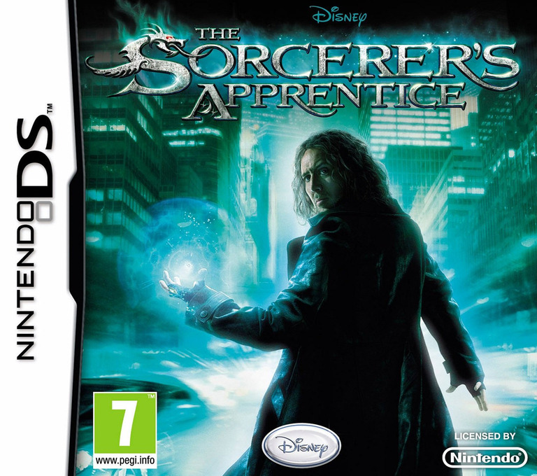 The Sorcerer's Apprentice DS coverHQ (BS8P)
