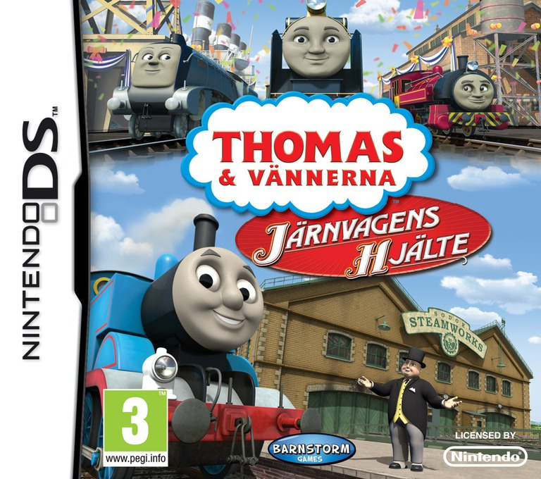 Thomas & Friends - Hero of the Rails DS coverHQ (BT4X)