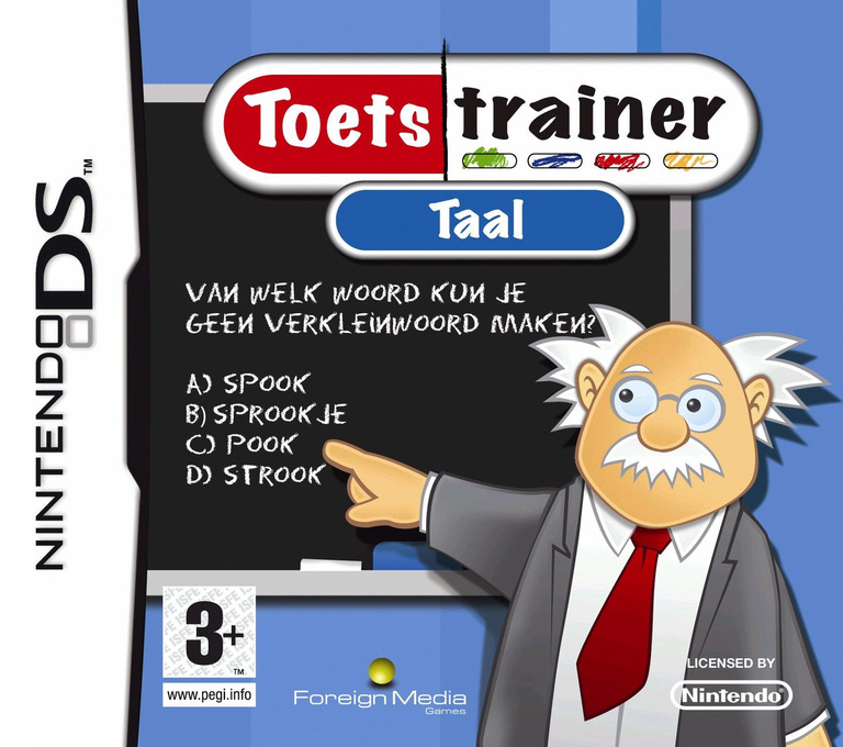 Toetstrainer - Taal DS coverHQ (BTLH)