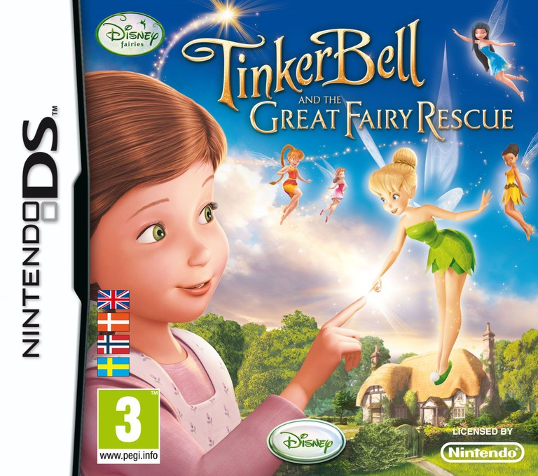 Tinker Bell and the Great Fairy Rescue DS coverHQ (BTUY)