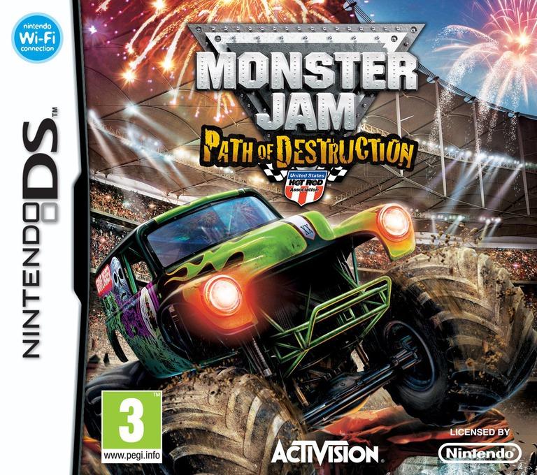 Monster Jam - Path of Destruction DS coverHQ (BUJP)