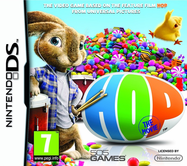 Hop - The Movie DS coverHQ (BV6P)