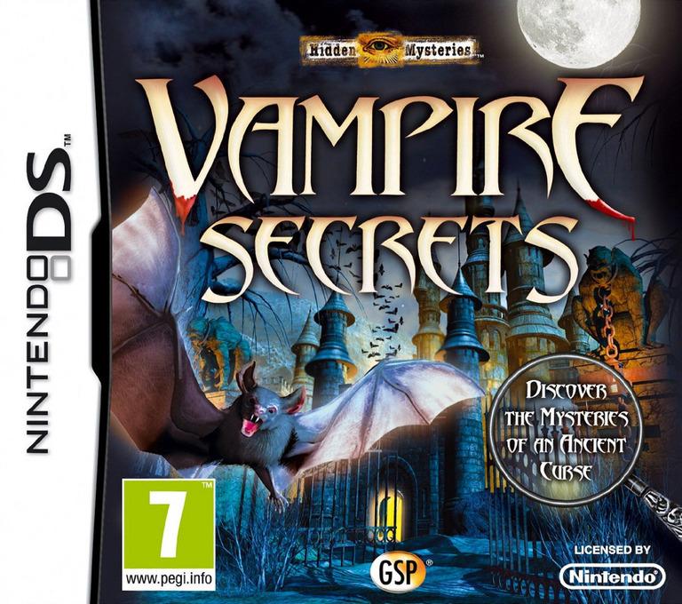 Hidden Mysteries - Vampire Secrets DS coverHQ (BVMP)