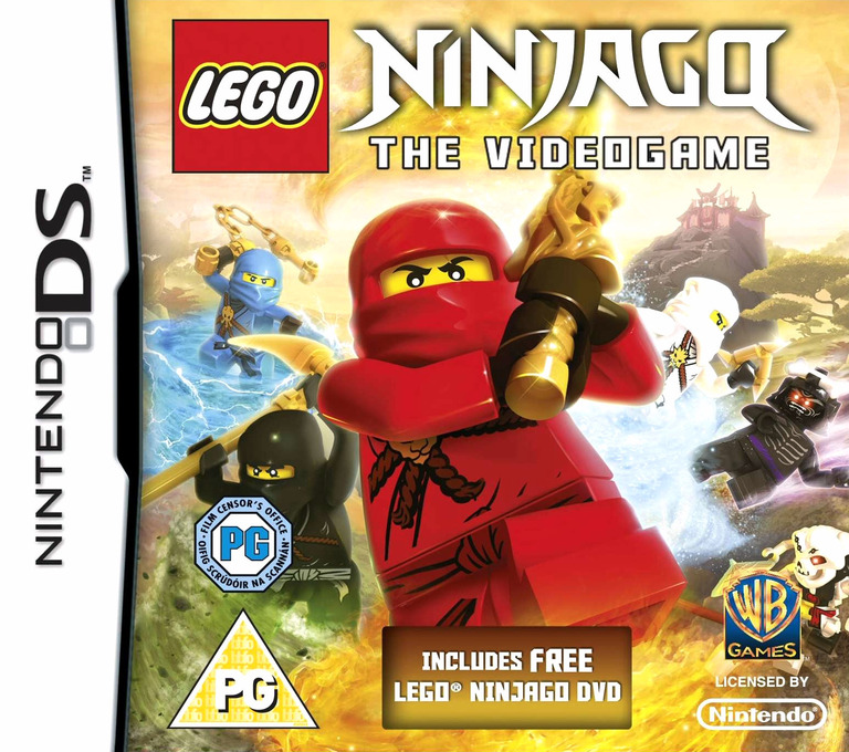 LEGO Ninjago - The Videogame DS coverHQ (BVYP)